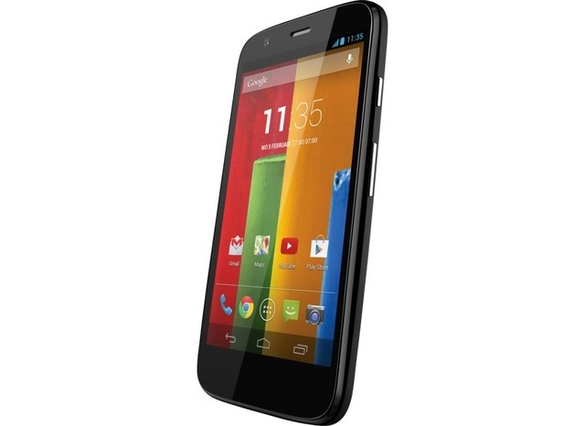 Smartphone Motorola Moto G XT-1033 Colors - Preto, Android 4.4.2, Quad-Core 1.2GHz,4.5´, 16GB, 5MP, Dual Chip - infotecline