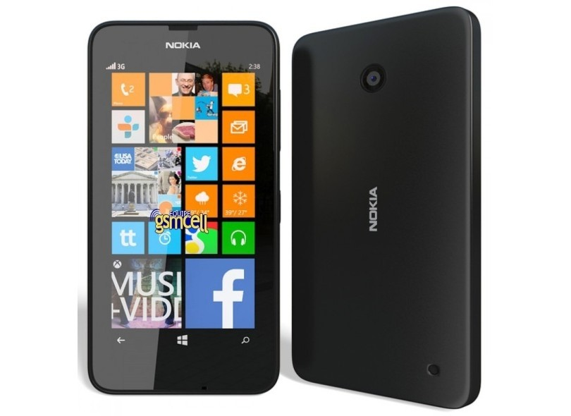 900c66db799 Smartphone Nokia Lumia 635 4G Windows Phone 8.1, Processador Quad-Core