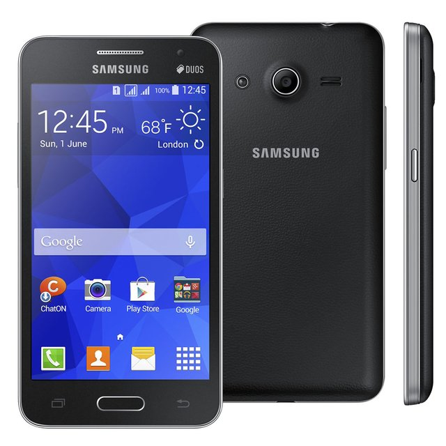 Smartphone Samsung Galaxy Core 2 Duos G355M Dual Chip Android 4.4 Tela 4.5