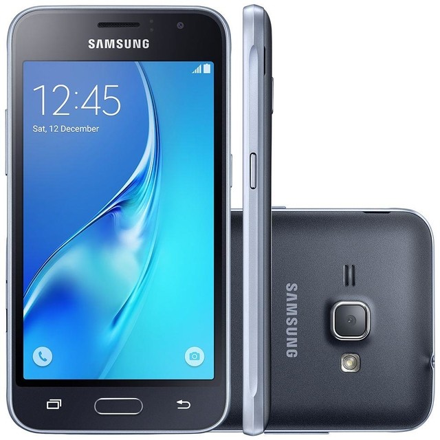 Smartphone Samsung Galaxy J1 Mini SM-J105B/DL Preto Dual Chip Android 5.1 Lollipop 3G Wi-Fi Câmera 5 MP