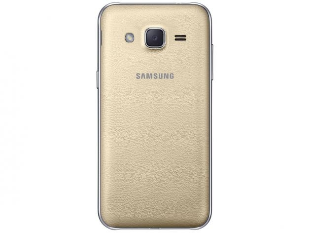 Smartphone Samsung Galaxy J2 TV Duos 8GB Dourado - Dual Chip 4G Câm 5MP Tela 4.7