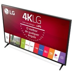 "Smart TV LED 49"" Ultra HD 4K LG 49UJ6300 com Sistema WebOS 3.5, Wi-Fi, Painel IPS, HDR, Quick Acess, Magic Mobile Connection, Music Player, HDMI e USB na internet"