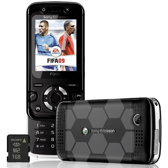 Celular Sony Ericsson F305, BLUETOOTH, CAM 2MP, MP3, GSM QUAD BAND