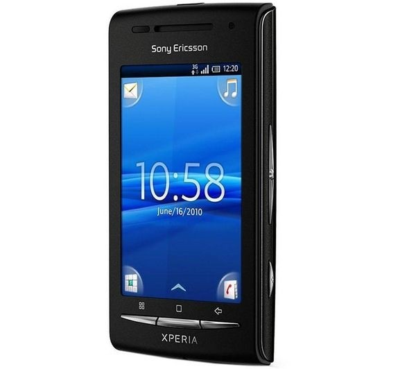 Sony Ericsson Xperia X8 E15a, Wi-fi 3.2mp Android, 1 Core 600 MHZ, Quad Band (850/900/1800/1900) - comprar online