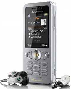 CELULAR SONY ERICSSON W302 CAM 2 MP, Bluetooth, Mp3 Player, Quad Band (850/900/1800/1900)