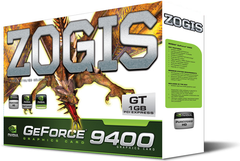 PLACA DE VIDEO  ZOGIS Geforce 9400 Gt 1gb Ddr2 Pci-e 2.0 Placa