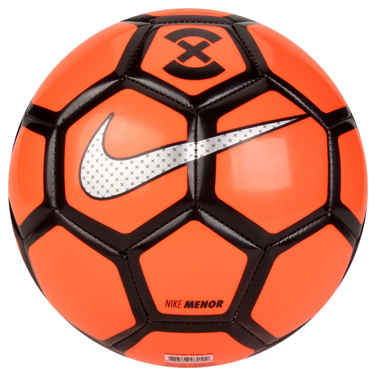a8a00ddd4f Bola Futebol Nike FootballX Menor Futsal - Laranja e Preto