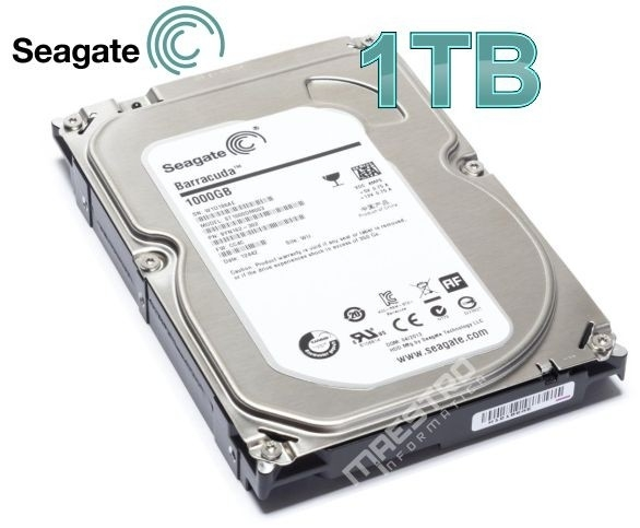 Hd 1tb Sata 6gb/s 7200rpm - 64mb Seagate Barracuda 1000gb