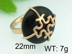 ANILLO TORY BURCH NEGRO ROSE COD. 401 - comprar online