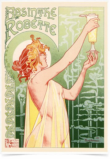 Poster The Belle Epoque Absinthe