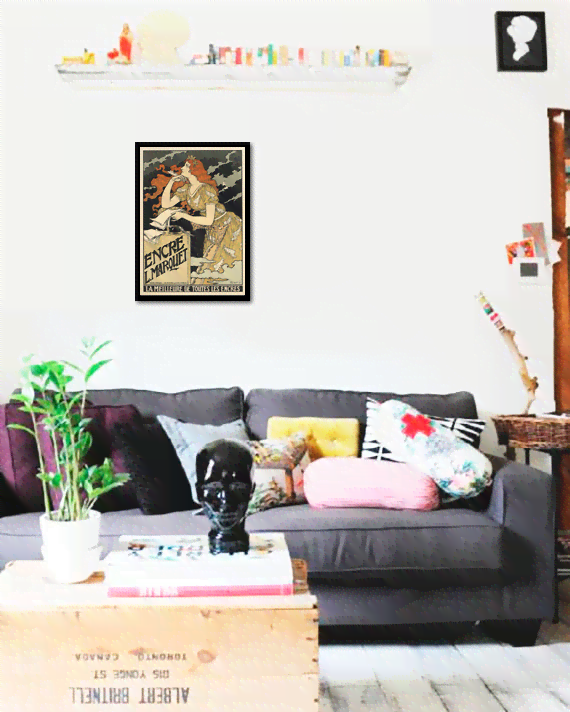 Quadro Poster The Belle Epoque Encre - comprar online