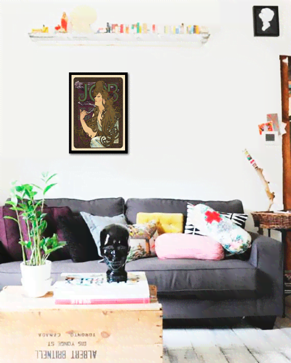 Quadro Poster The Belle Epoque Job - comprar online