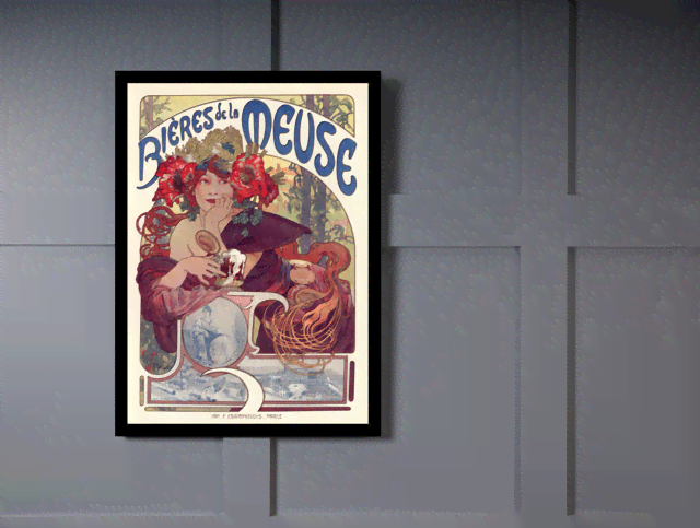 Quadro Poster The Belle Epoque Bieres Meuse na internet