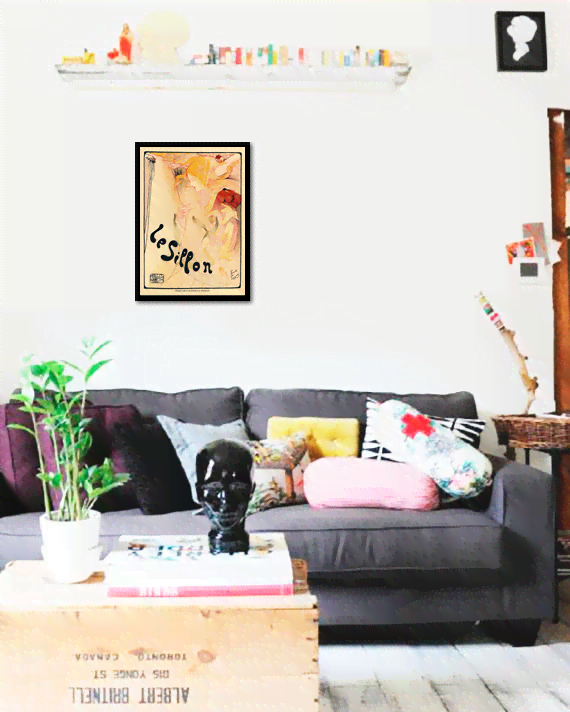 Quadro Poster The Belle Epoque Le Sillon - comprar online