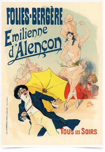 Poster The Belle Epoque Folies Bergere