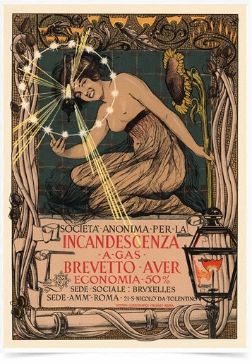 Poster The Belle Epoque Incandescenza