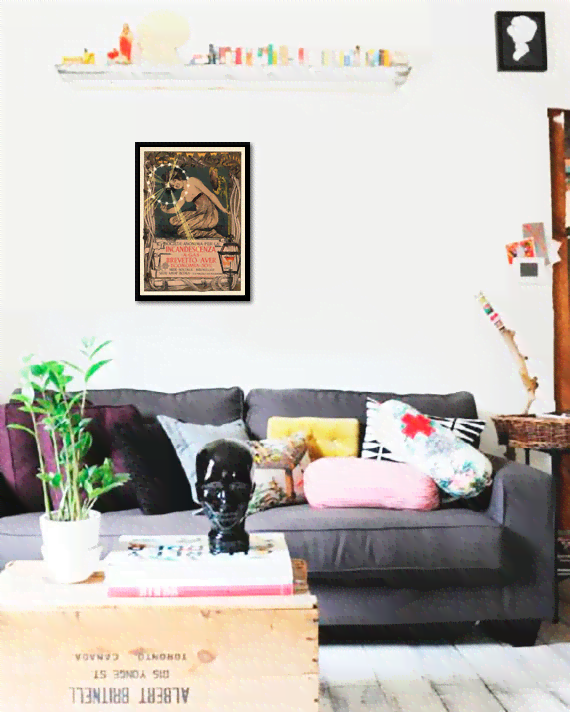 Quadro Poster The Belle Epoque Incandescenza - comprar online