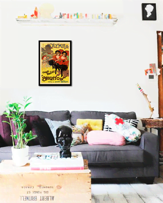 Quadro Poster The Belle Epoque Brighton - comprar online