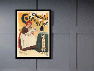 Quadro Poster The Belle Epoque Chocolat Carpentier na internet