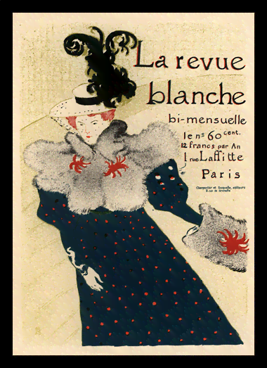 Quadro Poster The Belle Epoque La Revue Blanche