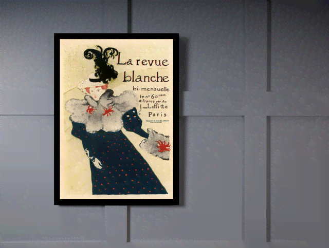 Quadro Poster The Belle Epoque La Revue Blanche na internet