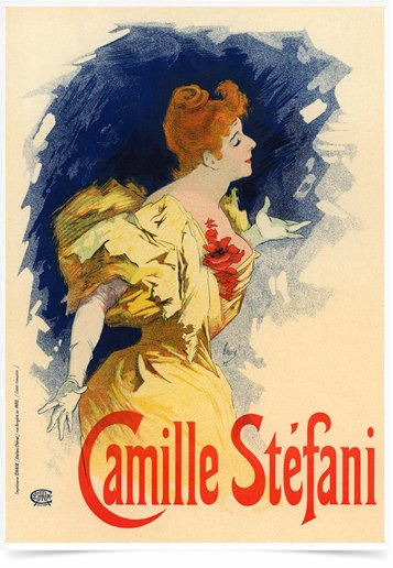 Poster The Belle Epoque Camille Stefani