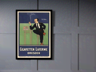 Quadro Poster The Belle Epoque Cigaretten Laferme na internet