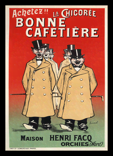 Quadro Poster The Belle Epoque Bonne Cafetiere