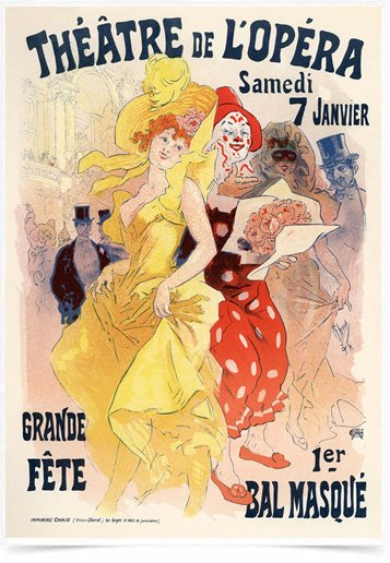 Poster The Belle Epoque Grande Fete