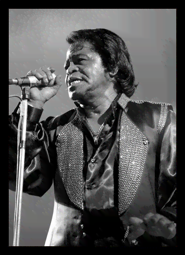 Quadro Poster Grandes Nomes da Musica James Brown 1