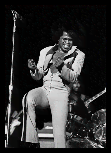 Quadro Poster Grandes Nomes da Musica James Brown 2