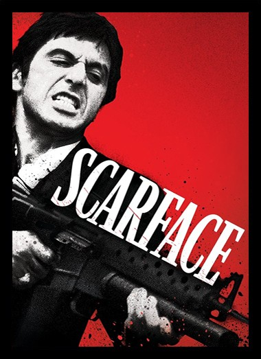 Quadro Poster Cinema Filme Scarface