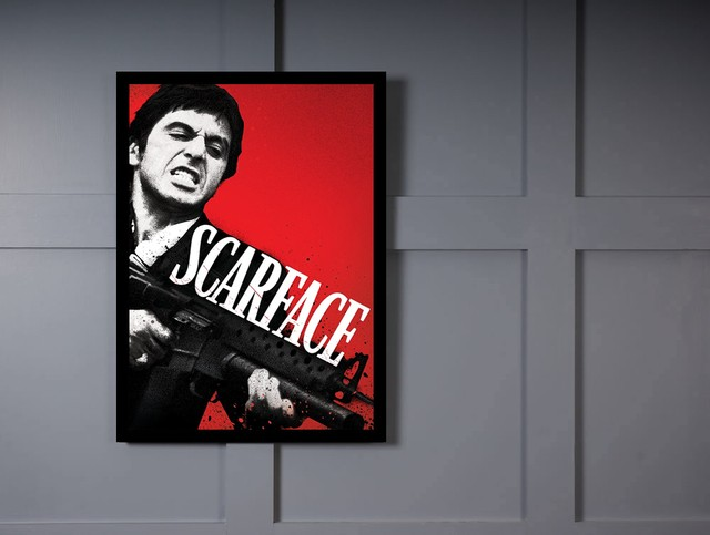 Quadro Poster Cinema Filme Scarface na internet