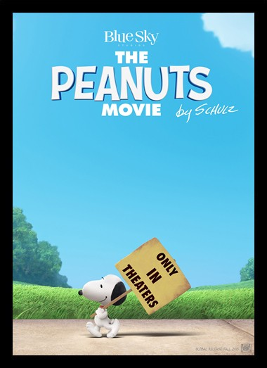 Quadro Poster Cinema Filme The Peanuts Movie 2