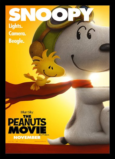 Quadro Poster Cinema Filme The Peanuts Movie 4