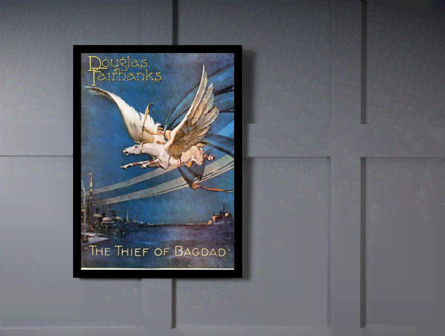 Quadro Poster Cinema Filme The Thief of Bagdad na internet