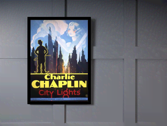 Quadro Poster Cinema Filme City Lights na internet
