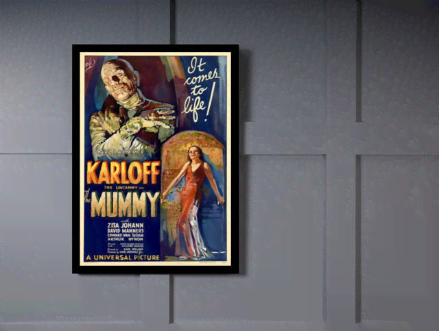 Quadro Poster Cinema Filme Mummy na internet