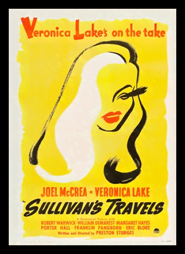 Quadro Poster Cinema Filme Sullivans Travels