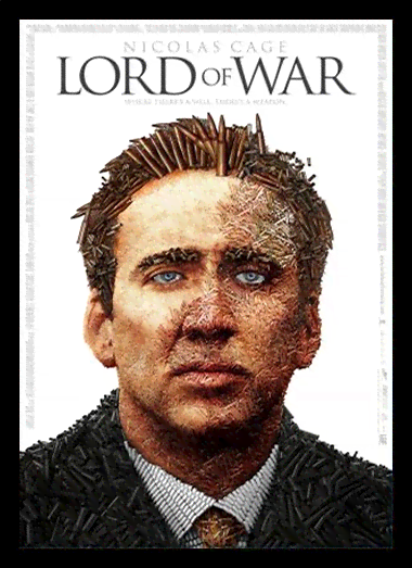 Quadro Poster Cinema Filme Lord of War