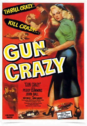 Poster Cinema Filme Gun Crazy