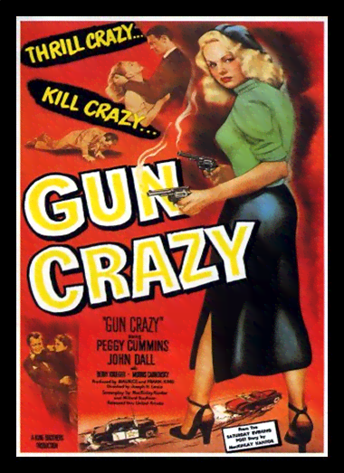 Quadro Poster Cinema Filme Gun Crazy