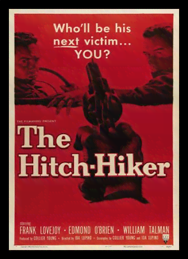Quadro Poster Cinema Filme The Hitch Hiker