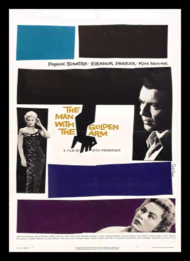 Quadro Poster Cinema Filme The Man With The Golden Arm