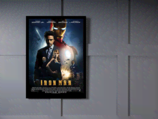 Quadro Poster Cinema Filme Iron Man na internet