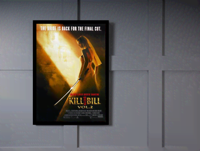 Quadro Poster Cinema Filme Kill Bill Vol 2 na internet