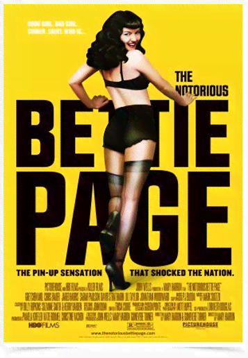 Poster Cinema Filme Betie Page