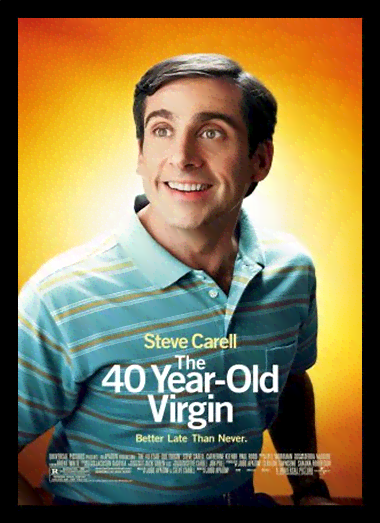 Quadro Poster Cinema Filme 40 Year Old Virgin