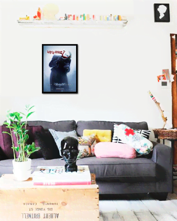 Quadro Poster Cinema Filme The Dark Knight 1 - comprar online