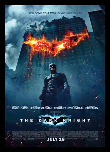 Quadro Poster Cinema Filme The Dark Knight 2